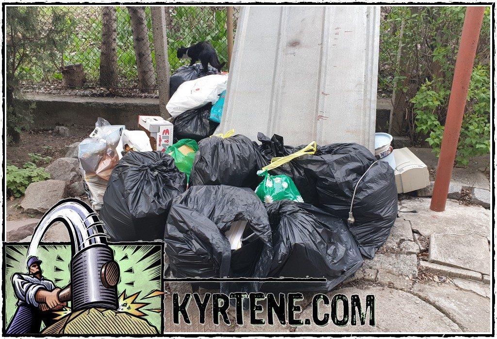 Извозване на битови отпадъци в Пловдив